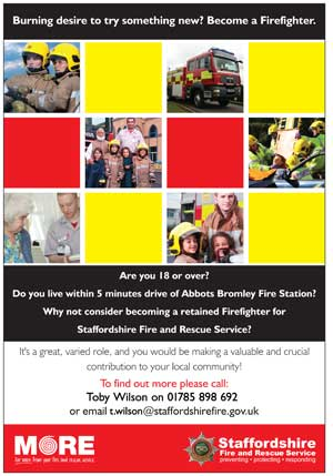 Retained Firefighter poster